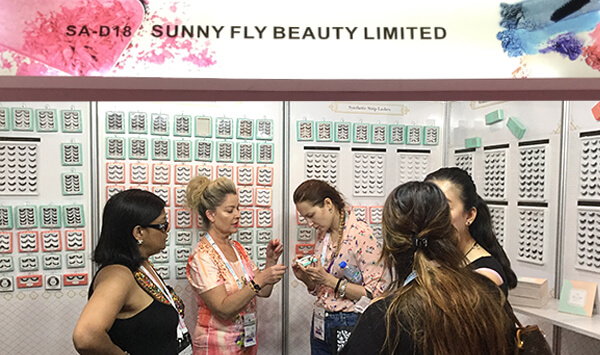 Sunny Fly Beauty deltok i Beautyworld Middle East 2017